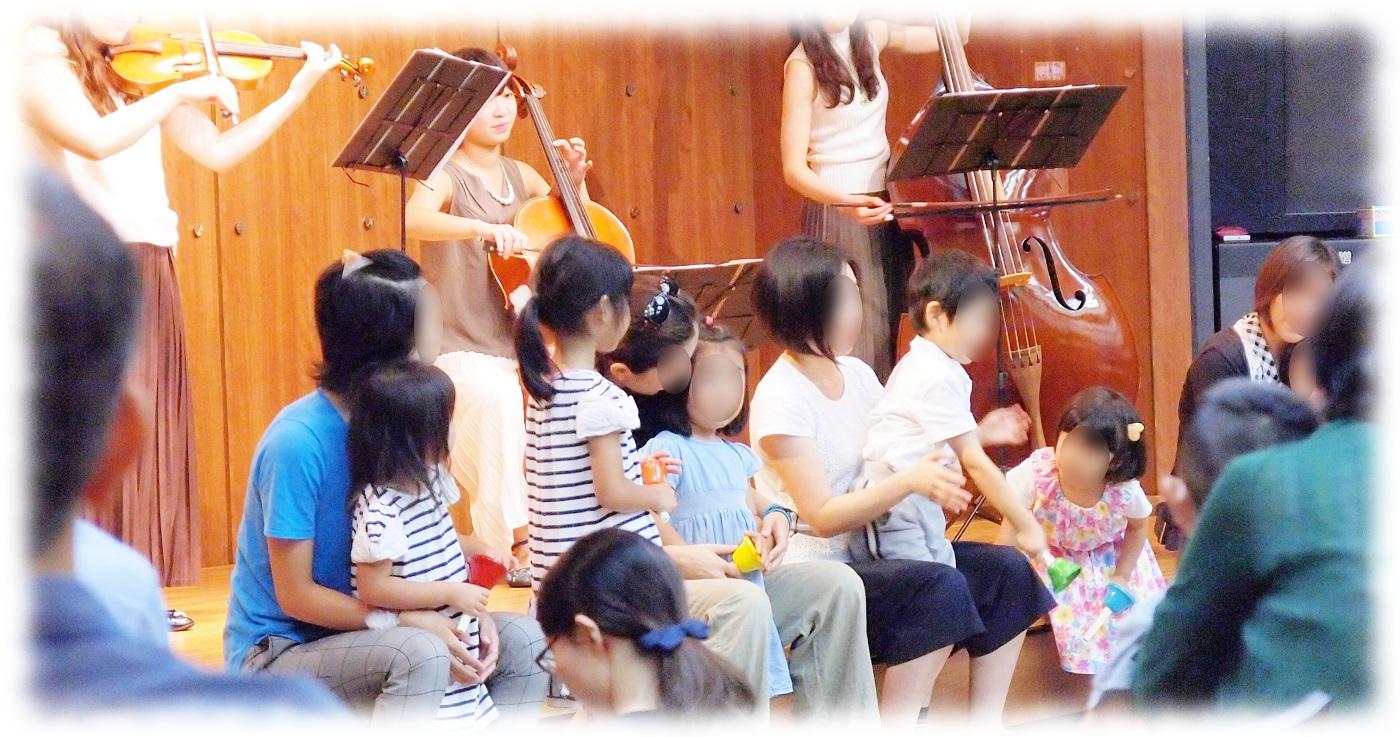 ゾウさん管弦楽団と一緒にハンドベル演奏!