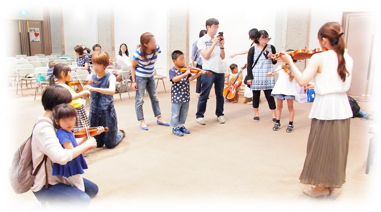 バイオリンでメロディを弾いてみよう