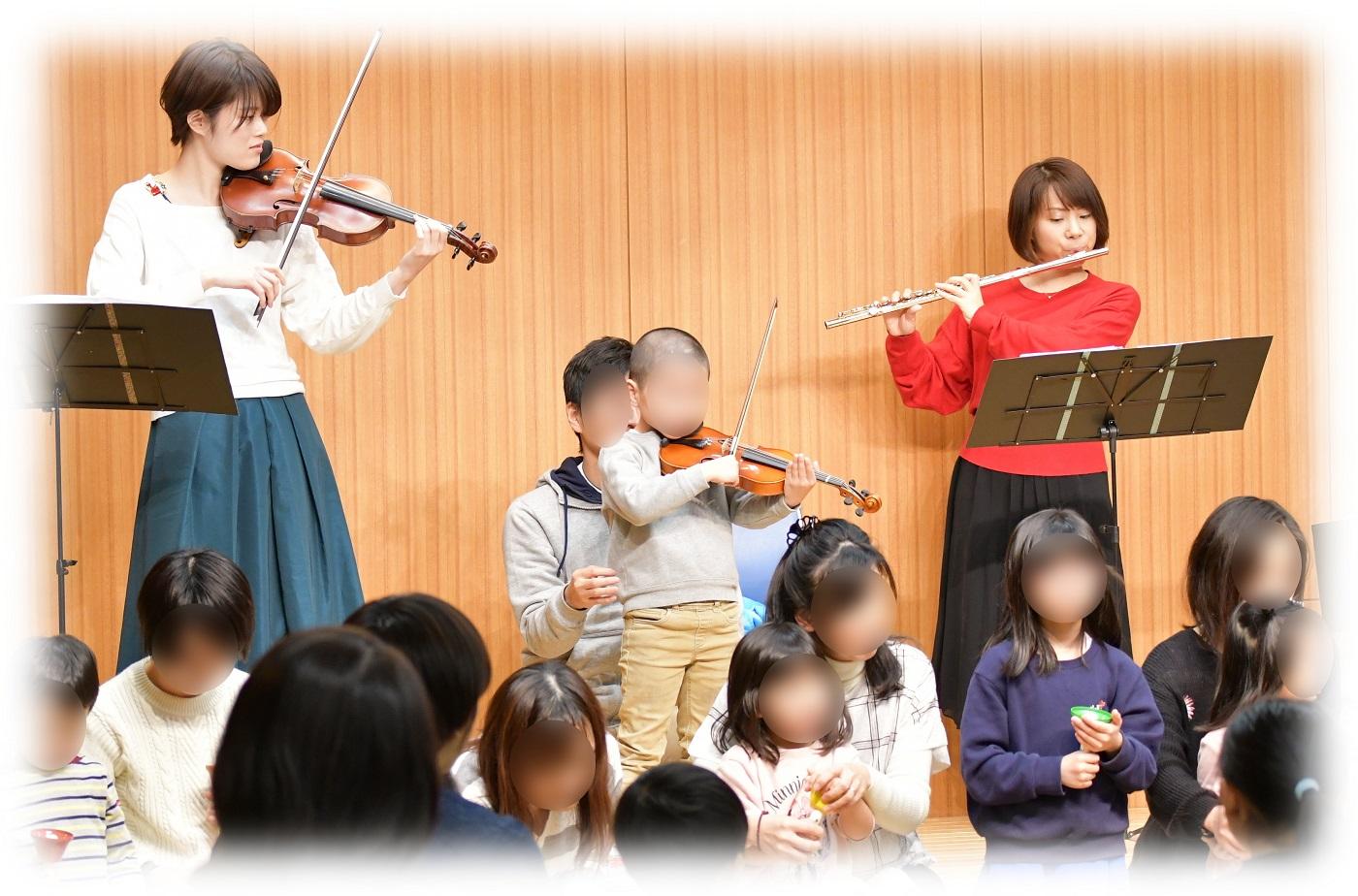 はじめてのバイオリンで演奏会デビュー!?