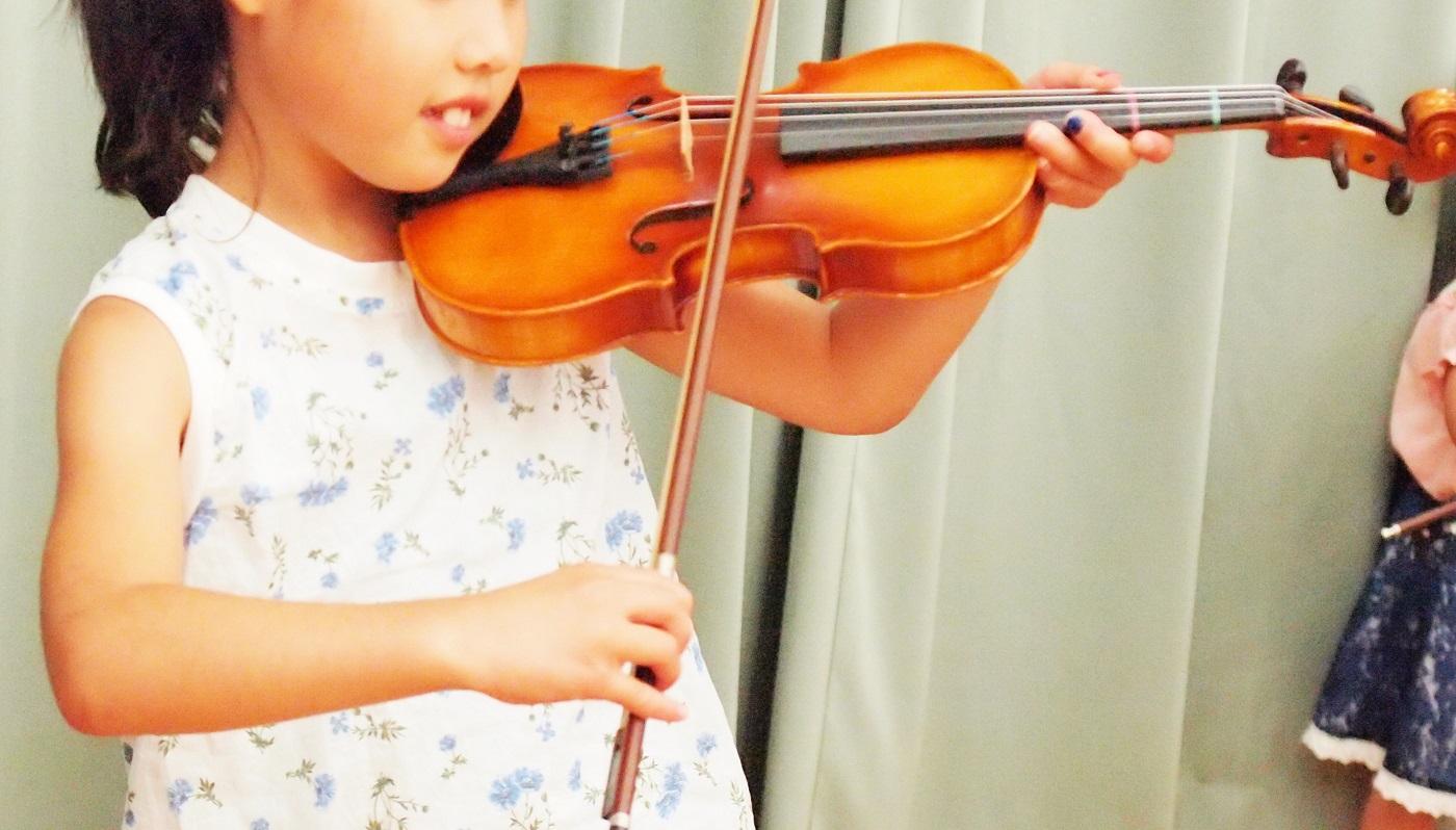 憧れのバイオリン、持ち帰ってみよう!
